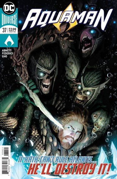 Aquaman Cover - 9/1/2018