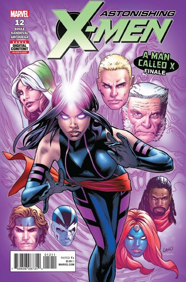Astonishing X-Men Cover - 8/1/2018