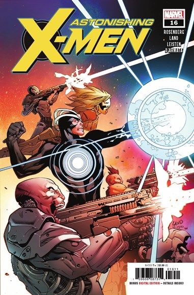 Astonishing X-Men Cover - 12/1/2018