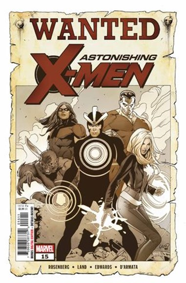Astonishing X-Men Cover - 11/1/2018