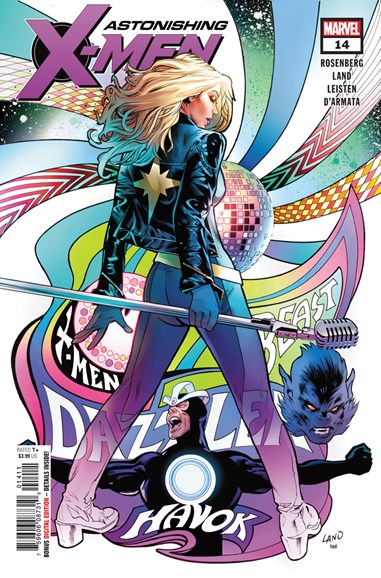 Astonishing X-Men Cover - 10/1/2018