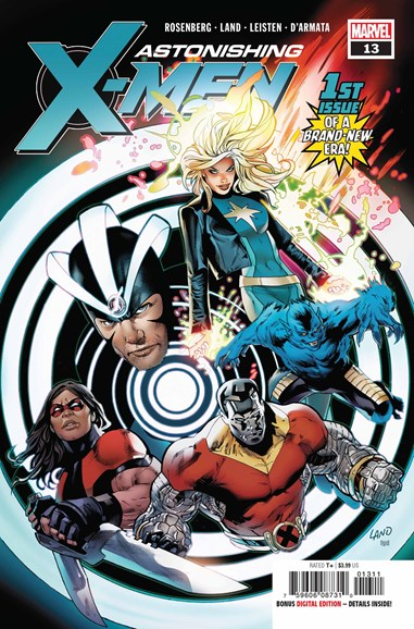 Astonishing X-Men Cover - 9/1/2018