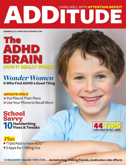 ADDitude Cover - 6/1/2013