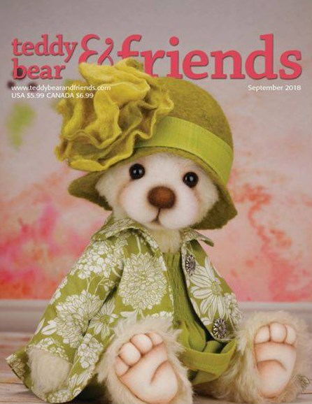 Teddy Bear Times & Friends Cover - 9/1/2018
