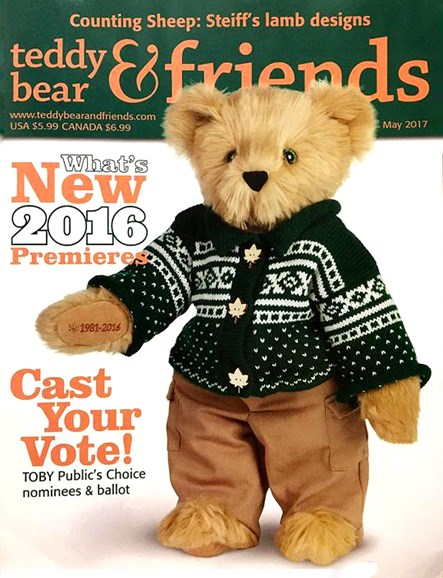Teddy Bear Times & Friends Cover - 5/1/2017