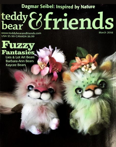 Teddy Bear Times & Friends Cover - 3/1/2018