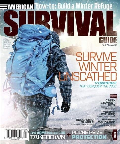 American Survival Guide Cover - 12/1/2018