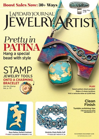 Lapidary Journal Jewelry Artist Cover - 11/1/2018