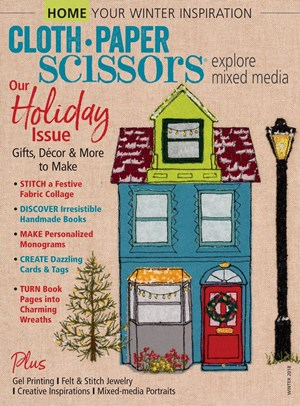 Cloth Paper Scissors Magazine | 11/1/2018 Cover