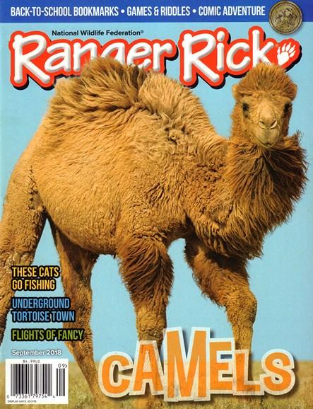 Ranger Rick Cover - 9/1/2018
