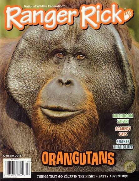 Ranger Rick Cover - 10/1/2018