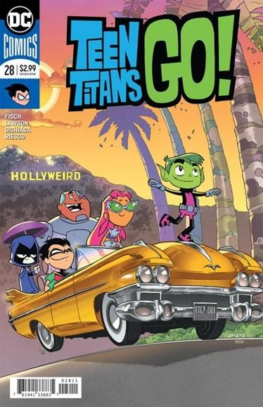 Teen Titans Go! Cover - 8/1/2018