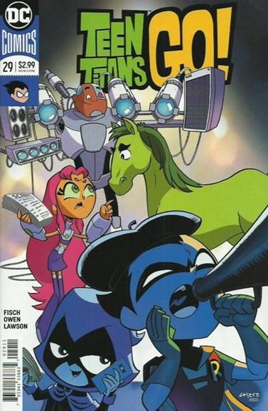 Teen Titans Go! Cover - 10/1/2018