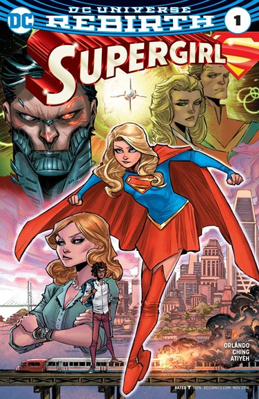 Supergirl Cover - 11/1/2016
