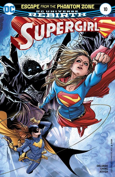 Supergirl Cover - 8/1/2017