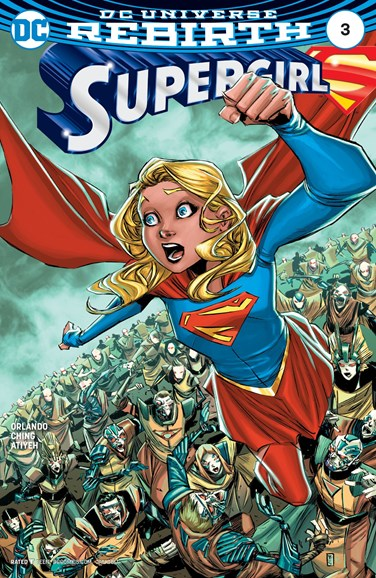 Supergirl Cover - 1/1/2017