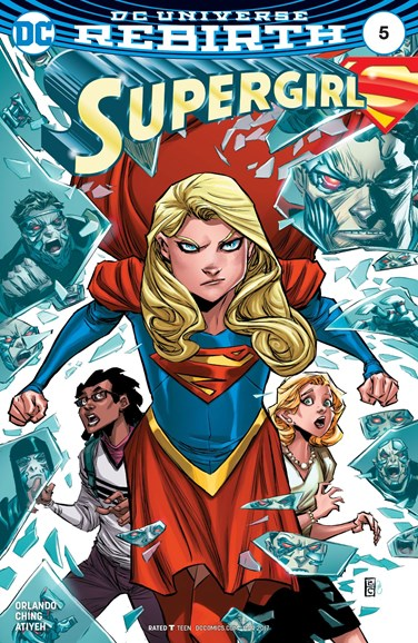 Supergirl Cover - 3/1/2017