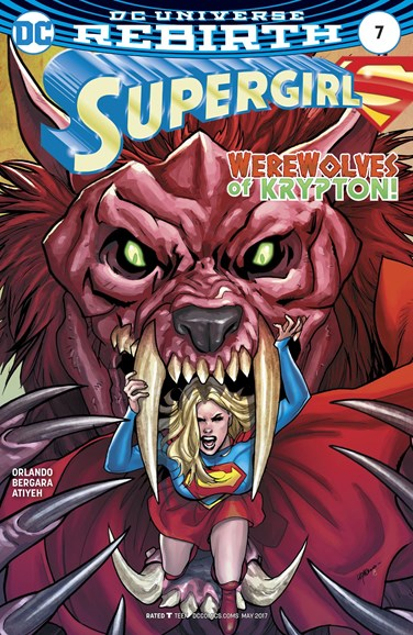 Supergirl Cover - 5/1/2017