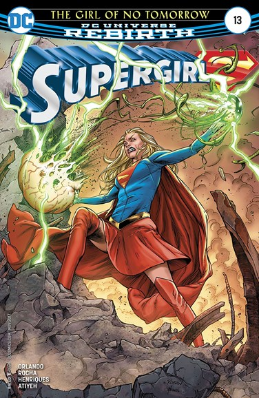 Supergirl Cover - 11/1/2017