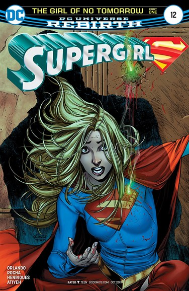 Supergirl Cover - 10/1/2017