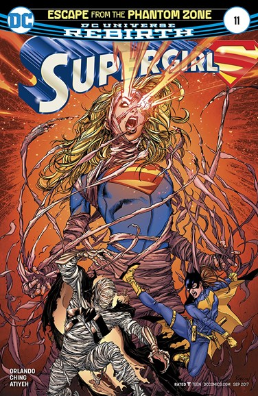 Supergirl Cover - 9/1/2017
