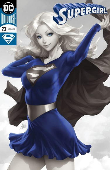 Supergirl Cover - 12/1/2018