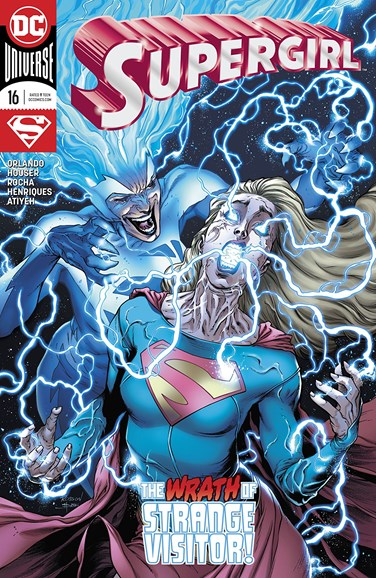 Supergirl Cover - 2/1/2018
