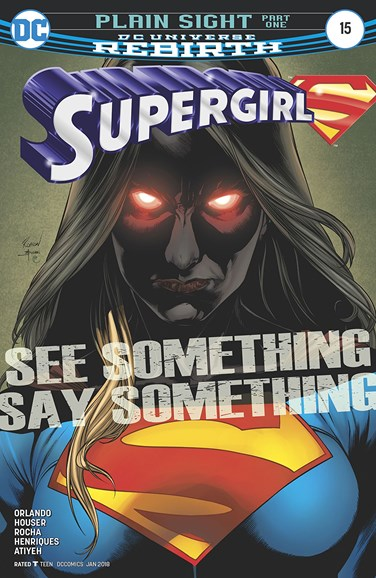 Supergirl Cover - 1/1/2018