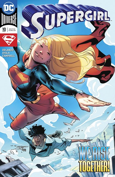 Supergirl Cover - 5/1/2018