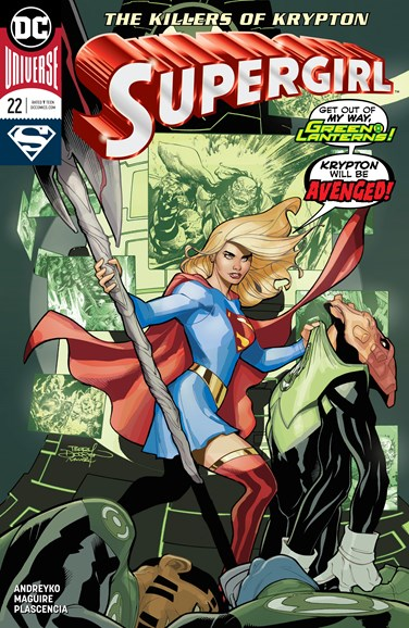 Supergirl Cover - 11/1/2018