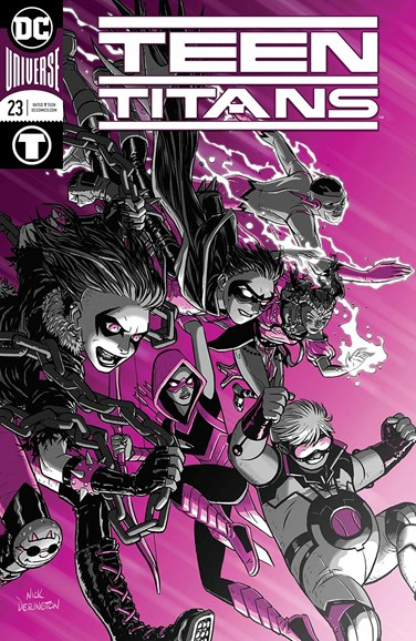 Teen Titans Cover - 12/1/2018