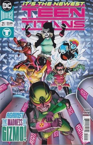 Teen Titans Cover - 10/1/2018