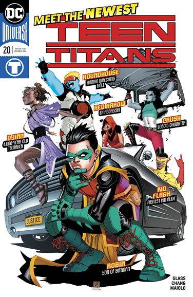 Teen Titans Cover - 9/1/2018