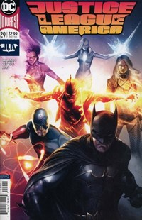 Justice League of America Comic | 7/1/2018 Cover