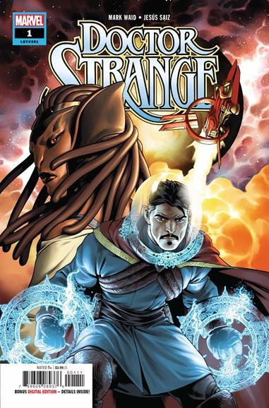 Doctor Strange Cover - 8/1/2018