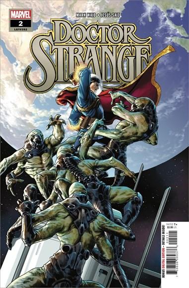 Doctor Strange Cover - 8/15/2018