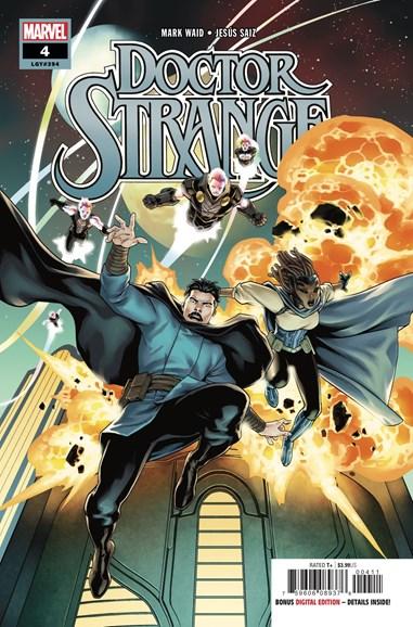 Doctor Strange Cover - 10/1/2018