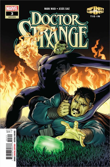Doctor Strange Cover - 9/1/2018