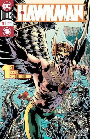 Hawkman Cover - 8/1/2018