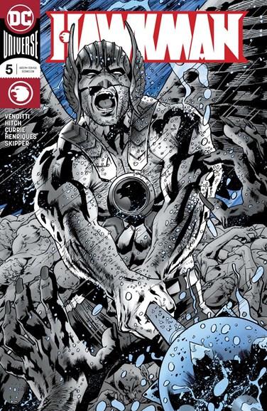Hawkman Cover - 12/1/2018