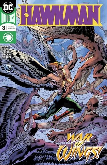 Hawkman Cover - 10/1/2018