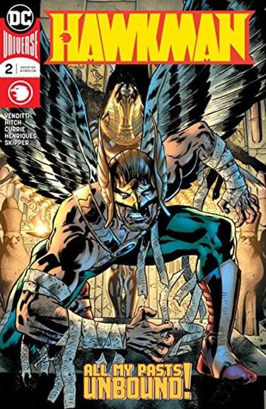 Hawkman Cover - 9/1/2018
