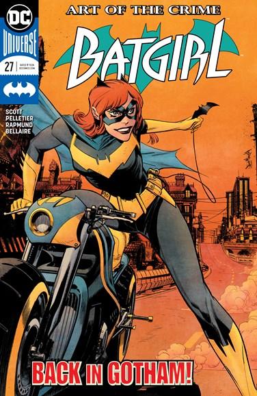 Batgirl Cover - 11/1/2018