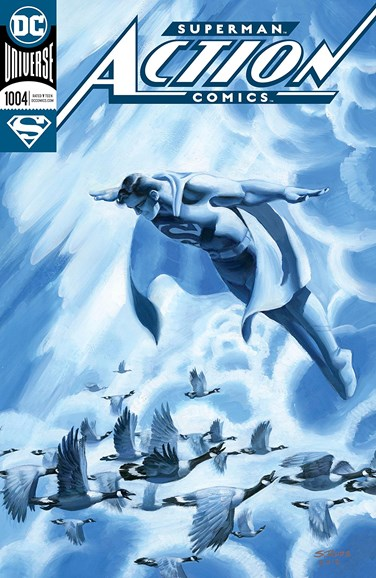 Action Comics Cover - 12/1/2018