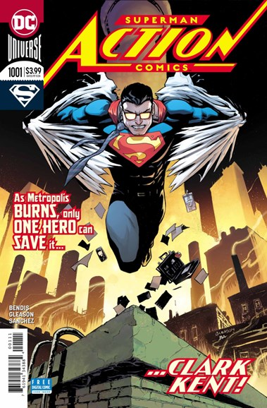 Action Comics Cover - 9/1/2018