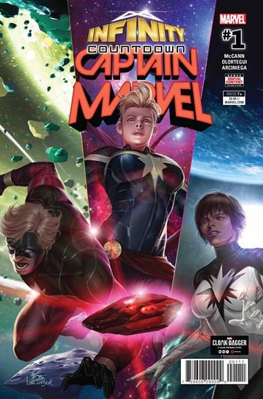 Captain Marvel Cover - 7/1/2018