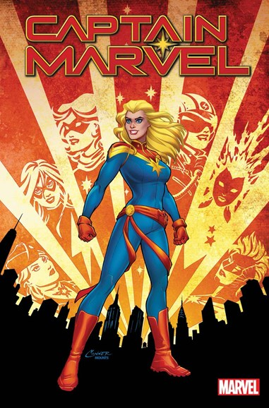 Captain Marvel Cover - 3/1/2019