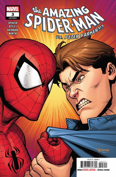 Amazing Spider-Man Cover - 10/1/2018