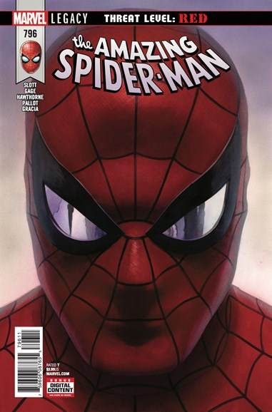 Amazing Spider-Man Cover - 4/15/2018