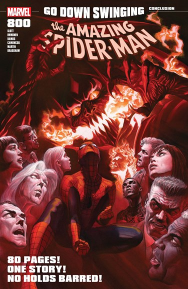 Amazing Spider-Man Cover - 7/1/2018